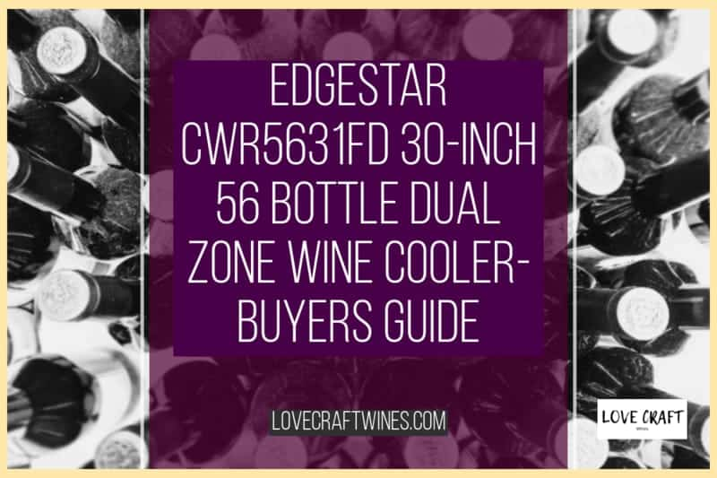 EdgeStar CWR5631FD 30-Inch 56 Bottle Dual Zone Wine Cooler