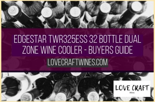 EdgeStar TWR325ESS 32 Bottle Wine Cooler