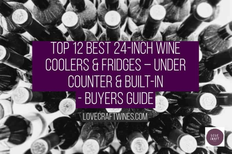Top 12 Best 24 Inch Wine Coolers & Fridges - Under Counter & Built-in