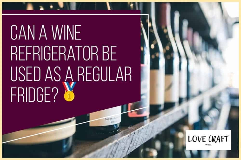 Can A Wine Fridge Be Used As A Regular Refrigerator?