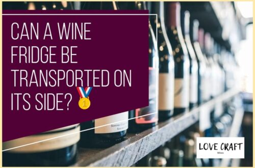 Can a Wine Fridge Be Transported On its Side?